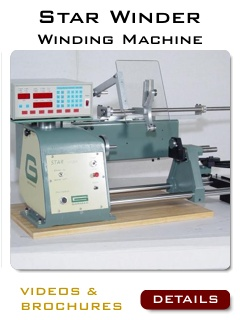 Coil Winding Machines - Coils - Bobbin Winding Machine
